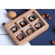 Набор шоколадных конфет ручной работы 6 шт, крафт