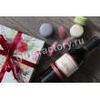 Подарок Презент с вином и макарони
