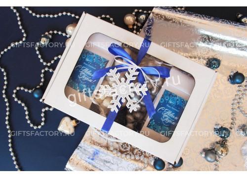 Подарок Белая снежинка