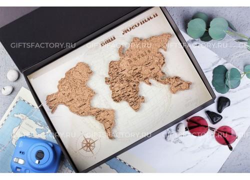 Подарок Карта мира