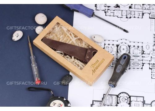 Подарок Шоколадные инструменты Пила