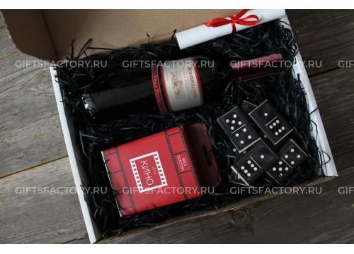 Подарок Кино, вино и домино