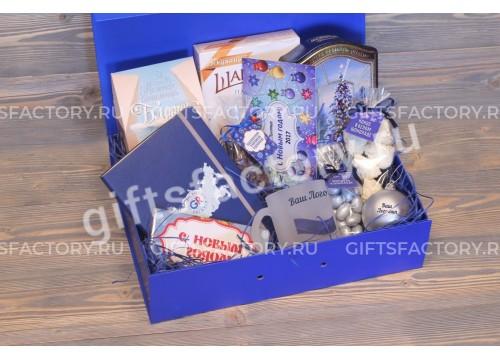 Подарок Синий иней
