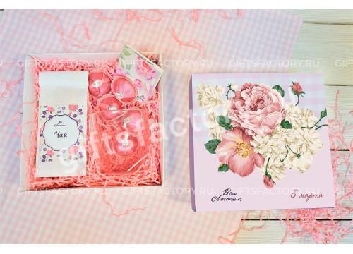 Подарок Розовые розы