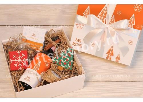 Подарок Глинтвейн и печенье