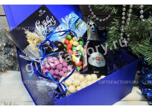 Подарок Сладости и шампанское