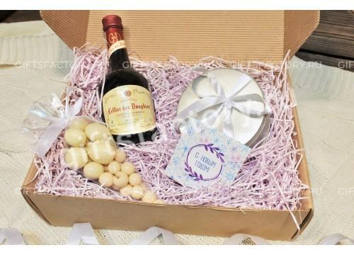 Подарок Клубника и вино