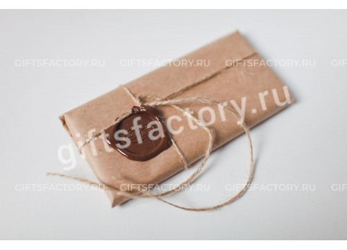 Подарок Шоколадная плитка 100 г. с сургучной печатью