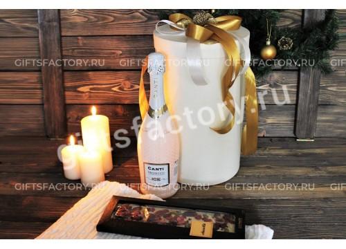 Подарок Белое золото