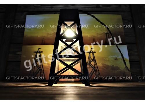 Лампа - нефтяная вышка