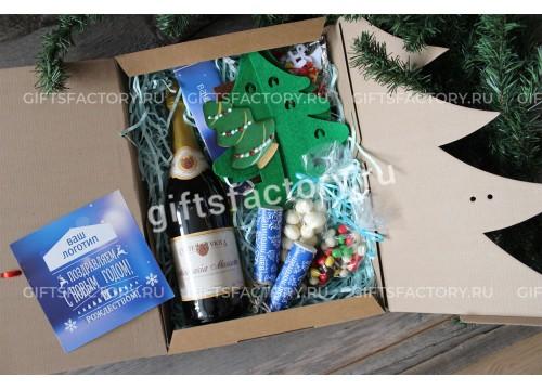 Подарок Новогоднее конфетти