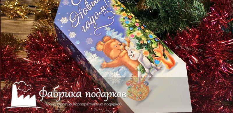Детские корпоративные подарки на новый год
